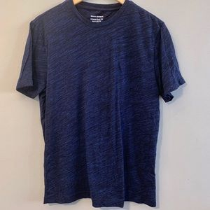 Banana Republic Black and Blue Short Sleeve Tee